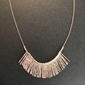Gorjana Rose Gold Kylie Fan Necklace